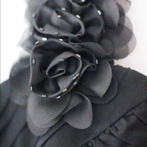 Black One-Strap Dress | Yonkers